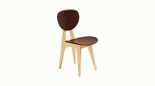 DINING CHAIR DC Brown