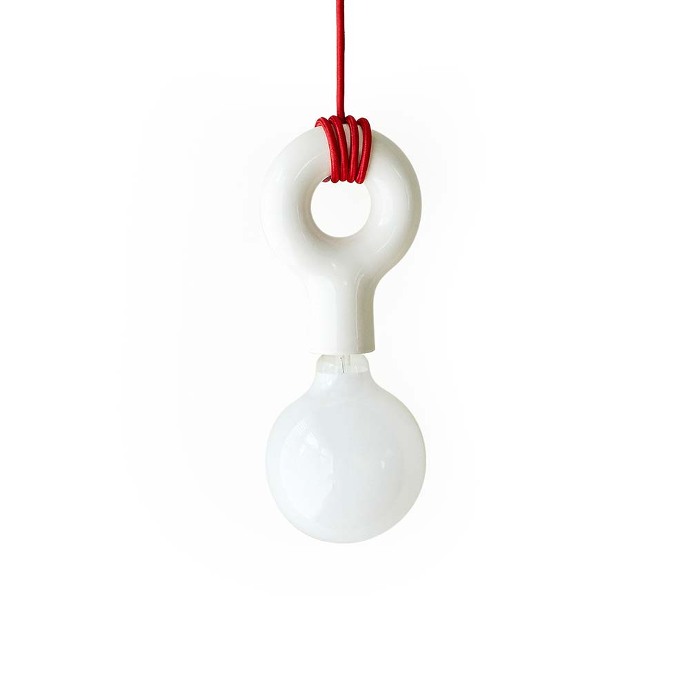 MOLLE CEILING LAMP Red Cord